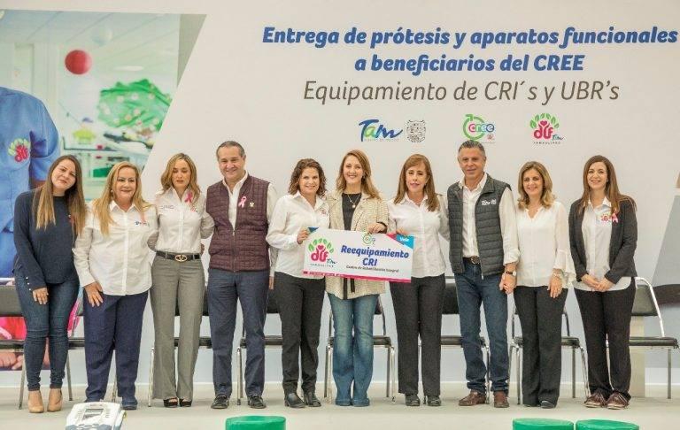 Inaugura Mariana Gómez CECUDI en Tampico y entrega apoyos funcionales en Madero