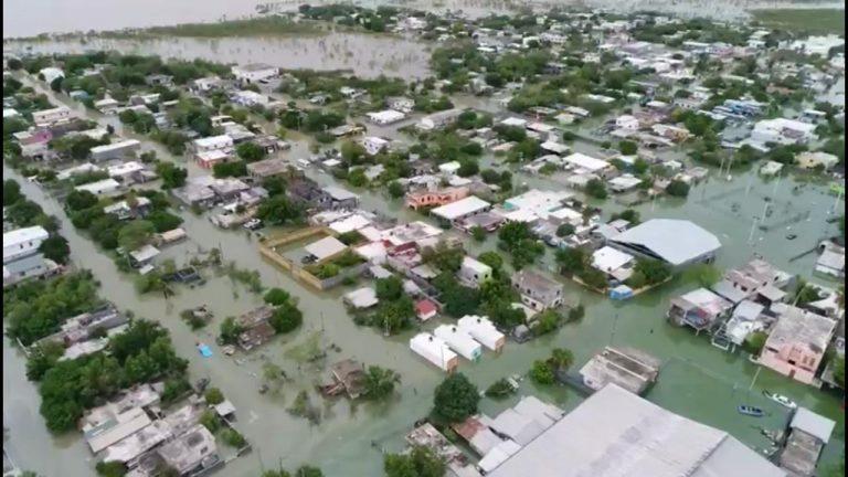 "Repartirán apoyos federales a los afectados por huracán ""Hanna"""