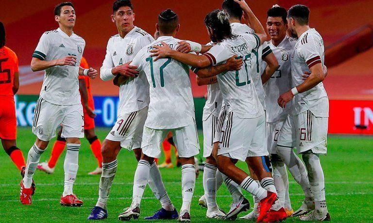 México venció a domicilio a Holanda con gol de Raúl Jiménez