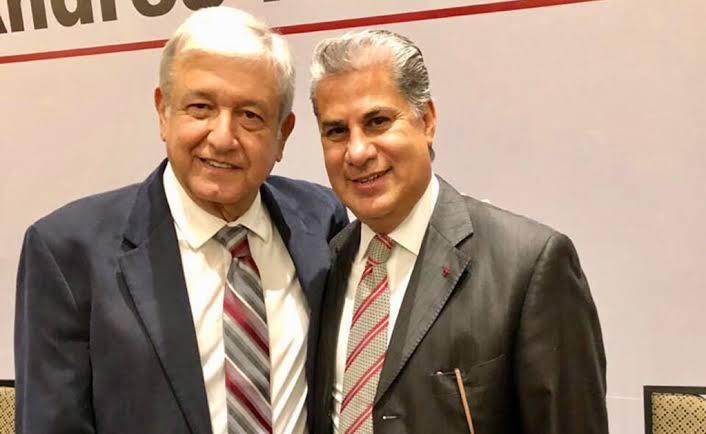 Respalda Alejandro Rojas decisión de AMLO en nombramiento a Rodolfo González Valderrama; mantiene aspiración de candidatura