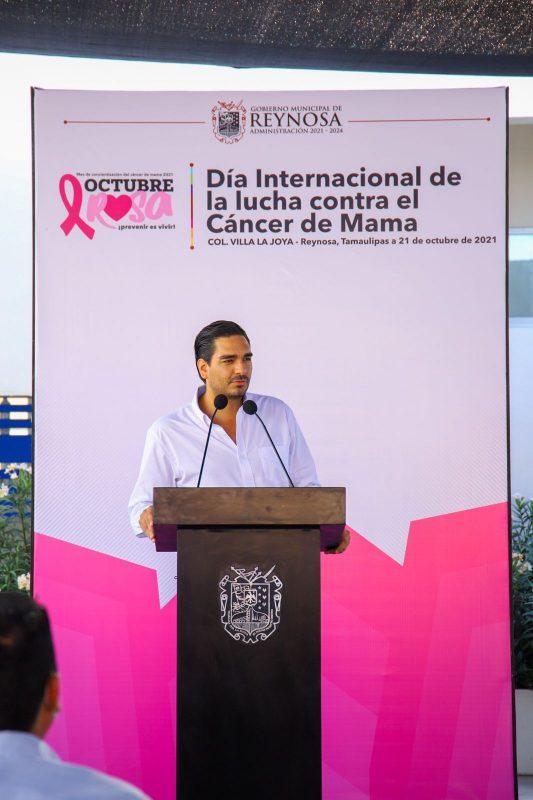 Extiende Carlos Peña campaña contra el cáncer hasta diciembre