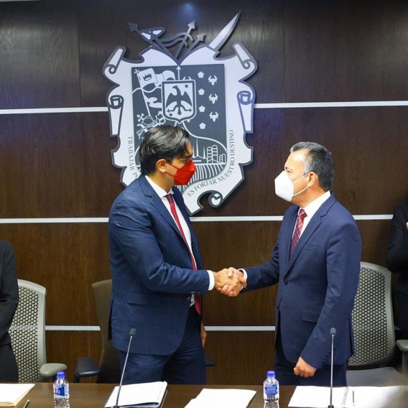 Entrega nombramientos Alcalde de Reynosa